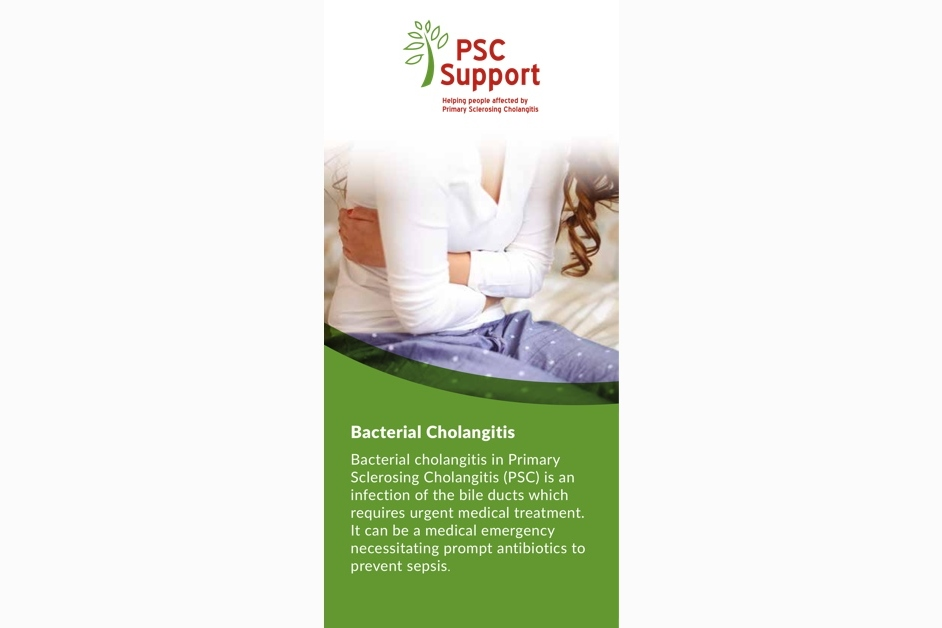 Bacterial cholangitis PSC Support
